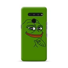 Smug Pepe Frog Funny Meme LG V50 ThinQ Case