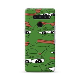 Sad Pepe frog seamless LG V50 ThinQ Case
