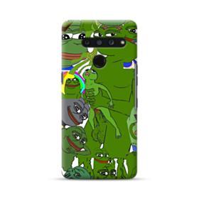 Rare pepe the frog seamless LG V50 ThinQ Case
