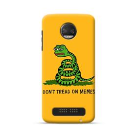 Pepe the frog don't tread on memes Moto Z2 Force Case