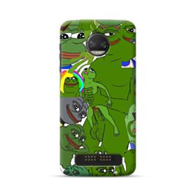 Rare pepe the frog seamless Moto Z2 Force Case