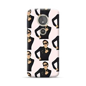Kris Jenner middle finger meme Motorola Moto E5 Case