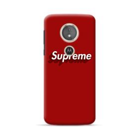 Supreme Red Cover Motorola Moto E5 Case