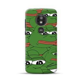 Sad Pepe frog seamless Motorola Moto E5 Play Case