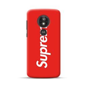 Red Supreme Motorola Moto E5 Play Case
