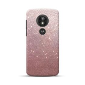 Rose Gold Glitter Motorola Moto E5 Play Case