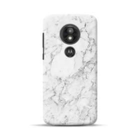 White Marble Motorola Moto E5 Play Case