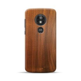 Red Oak Wood Motorola Moto E5 Play Case