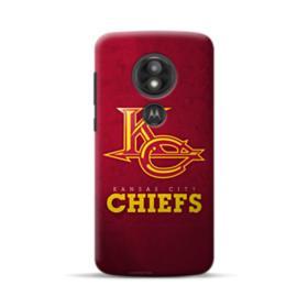 Kansas City Chiefs Logo Grunge Motorola Moto E5 Play Case