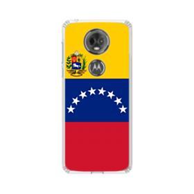 Flag of Venezuela Motorola Moto E5 Plus Clear Case