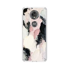 Watercolor Aesthetic Motorola Moto E5 Plus Clear Case