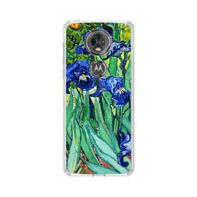 Irises Claude Monet Motorola Moto E5 Plus Clear Case