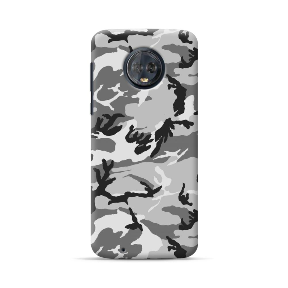 new concept b5162 9c5b7 Air Force Gray Camo Motorola Moto G6 Case
