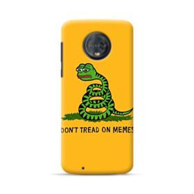 Pepe the frog don't tread on memes Motorola Moto G6 Case