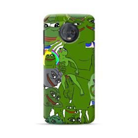 Rare pepe the frog seamless Motorola Moto G6 Case