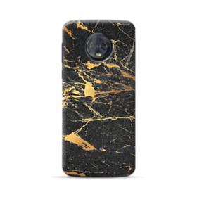 Black & Gold Marble Motorola Moto G6 Case