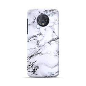 White Marble Motorola Moto G6 Case