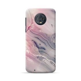 Pink Marble Motorola Moto G6 Case