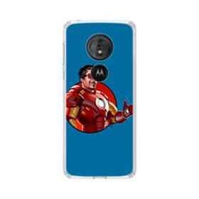 Iron Man Motorola Moto G6 Play Clear Case