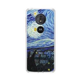The Starry Night Motorola Moto G6 Play Clear Case