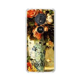 Roses and Jasmine Renoir Motorola Moto G6 Play Clear Case