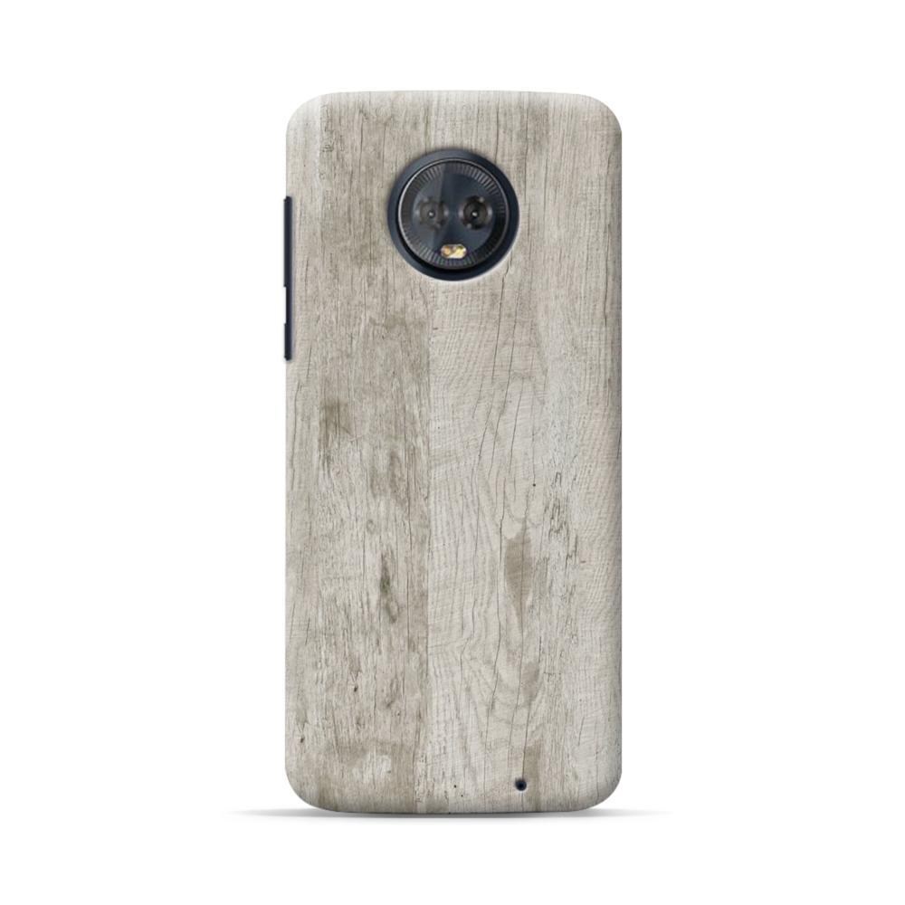 new style 70097 eca59 Wood like Motorola Moto G6 Plus Case
