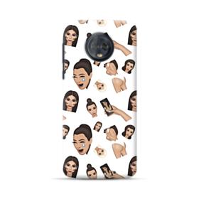 Kim Kardashian Emoji Kimoji seamless Motorola Moto G6 Plus Case