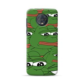 Sad Pepe frog seamless Motorola Moto G6 Plus Case
