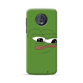 Sad Pepe frog Motorola Moto G6 Plus Case