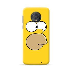 The Simpsons Face Motorola Moto G6 Plus Case