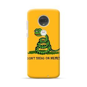 Pepe the frog don't tread on memes Motorola Moto G7 Case