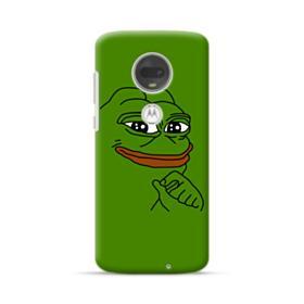 Smug Pepe Frog Funny Meme Motorola Moto G7 Case