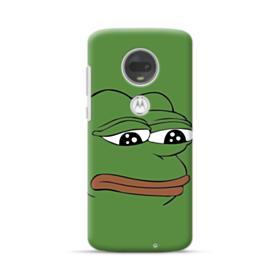 Sad Pepe frog Motorola Moto G7 Case