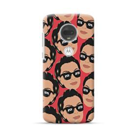 Kris jenner funny meme emoji Motorola Moto G7 Case