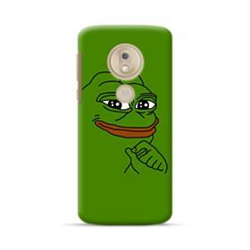 Smug Pepe Frog Funny Meme Motorola Moto G7 Play Case