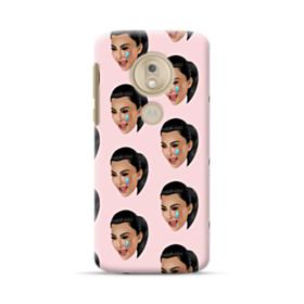 Crying Kim emoji kimoji seamless Motorola Moto G7 Play Case