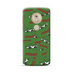 Sad Pepe frog seamless Motorola Moto G7 Play Case