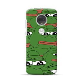 Sad Pepe frog seamless Motorola Moto G7 Plus Case