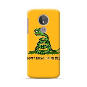 Pepe the frog don't tread on memes Motorola Moto G7 Power Case