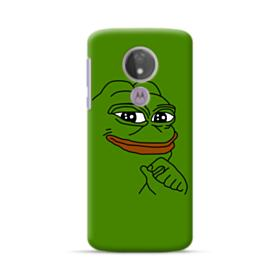 Smug Pepe Frog Funny Meme Motorola Moto G7 Power Case