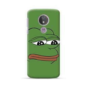 Sad Pepe frog Motorola Moto G7 Power Case