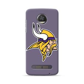 Minnesota Vikings Team Logo Motorola Moto Z3 Case