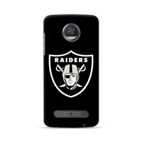 Oakland Raiders Team Logo Crest Motorola Moto Z3 Case