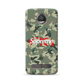 Supreme Camo Motorola Moto Z3 Case