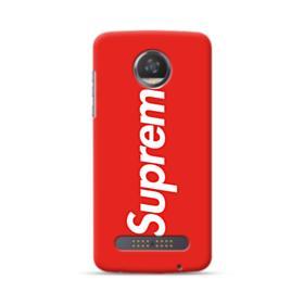 Red Supreme Motorola Moto Z3 Case