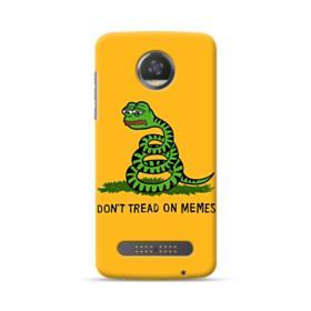Pepe the frog don't tread on memes Motorola Moto Z3 Play Case