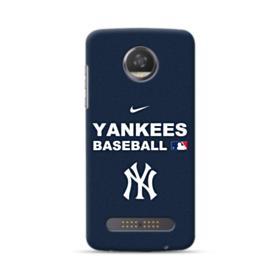 New York Yankees Team Logo Interlocking Motorola Moto Z3 Play Case