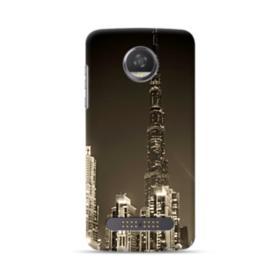 City night skyline Motorola Moto Z3 Play Case