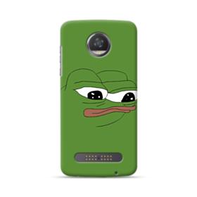 Sad Pepe frog Motorola Moto Z3 Play Case
