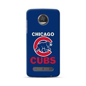 Chicago Cubs Team Logo Mascot Motorola Moto Z3 Play Case